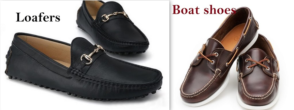 loafers and boat shoes
