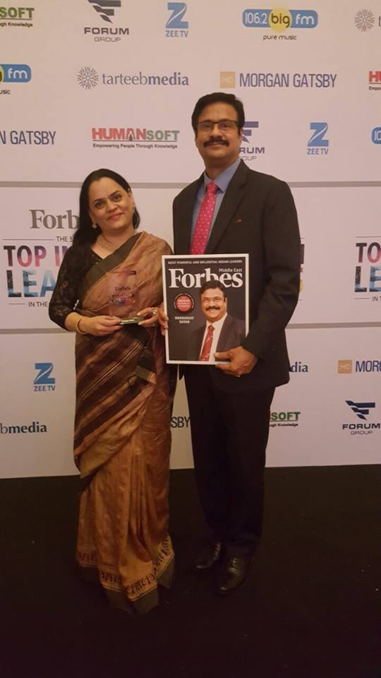 dhananjay datar with his photo on forbes