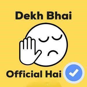 dekh bhai facebook meme page