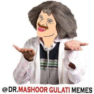 mashoor gulati facebook meme page